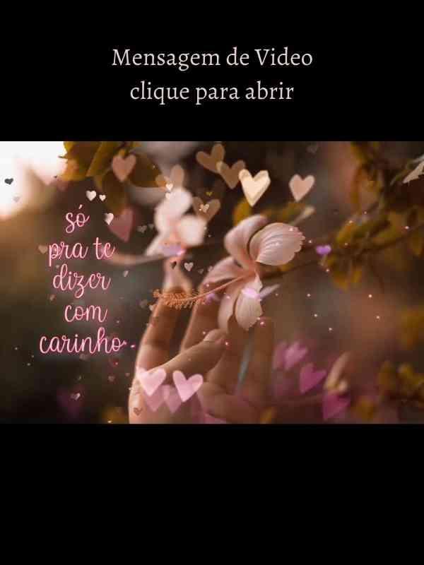 Boa Noite Com Carinho - Mensagem linda em Video