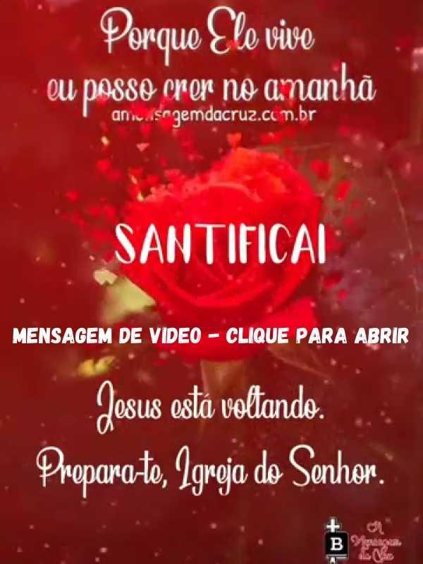Jesus está voltando - Mensagem de Salvação